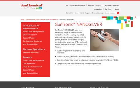 SunTronic™ NANOSILVER