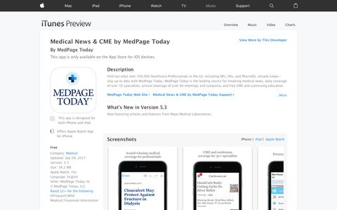 Medical News & CME by MedPage Today on the App Store