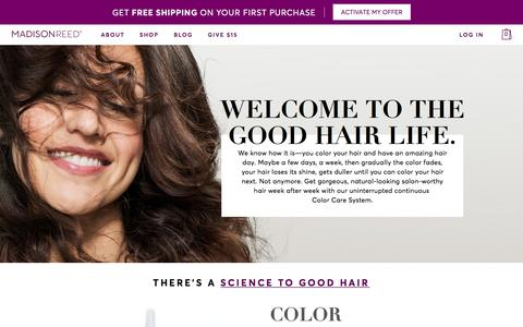 Madison Reed | The Total Hair Color and Care System