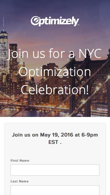 New York Optimization Celebration