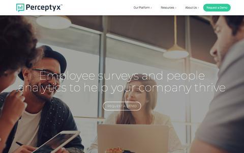 Perceptyx, Inc. | Listen Discover Thrive