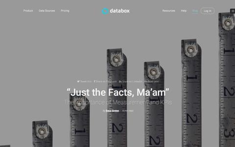 Screenshot of Blog databox.com - Blog Databox - Mobile-first BI Platform - captured Feb. 17, 2016