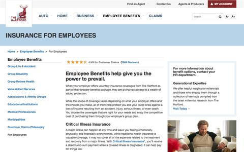 Group Benefits Insurance for Employees | The Hartford