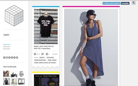 Screenshot of Blog cubiccollective.com - CUBIC COLLECTIVE - captured Sept. 30, 2014