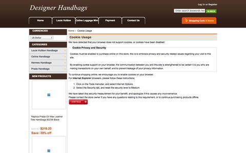 Screenshot of Login Page cognicient.com - Cookie Usage : - captured Oct. 27, 2014