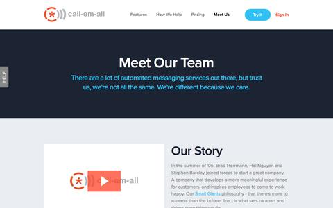 Meet Our Team | Call-Em-All