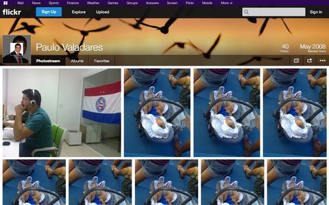 Screenshot of Flickr Page flickr.com - Flickr: Paulo Valadares' Photostream - captured Oct. 23, 2014