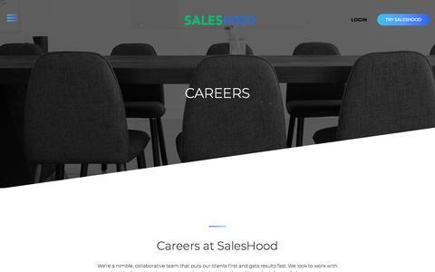 SalesHood - Careers