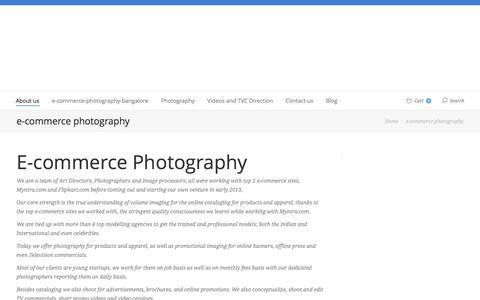 Screenshot of About Page g16studios.com - E-commerce Photography | e-commerce photography, catalog photography, product photography bangalore - captured June 12, 2016