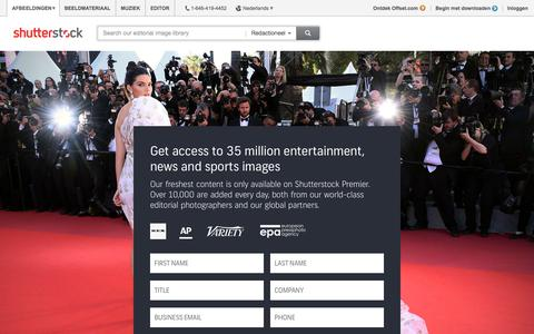 Screenshot of Signup Page shutterstock.com - Sign-up - Editorial Images: News & Entertainment Photos | Shutterstock - captured Nov. 3, 2017