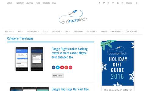 Travel Apps Archives   Cool Mom Tech