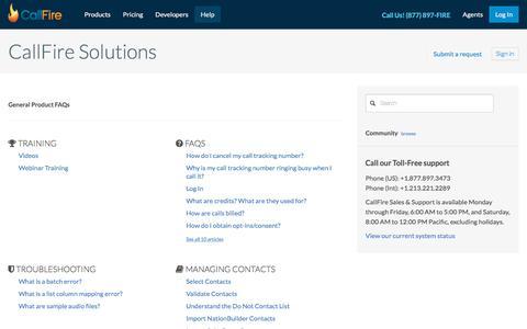 CallFire Solutions