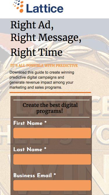 Predictive Digital Programs