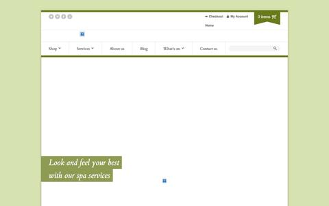 Screenshot of Home Page bodysense.org - Home | Body Sense - captured Sept. 30, 2014