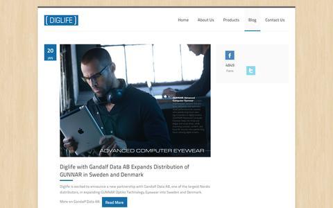 Screenshot of Blog diglife.no - Blog | DIGLIFE - Digital Lifestyle - captured Sept. 30, 2014