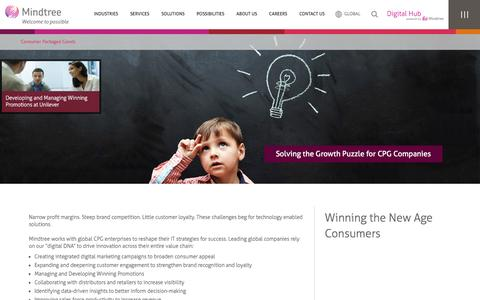 CPG Software and Technology | Mindtree