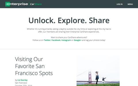 Screenshot of Blog enterprisecarshare.com - blog - captured Oct. 14, 2016