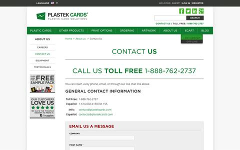 Plastic Business Cards/Membership/Loyalty/Gift Cards | Plastek Cards