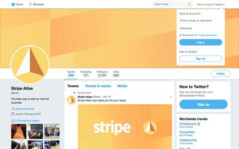 Stripe Atlas (@atlas) | Twitter