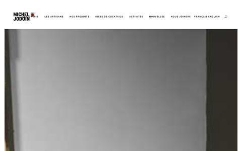 Screenshot of Home Page micheljodoin.ca - Cidrerie Michel Jodoin | Cidres et spiritueux au coeur de Rougemont! - captured Jan. 28, 2016