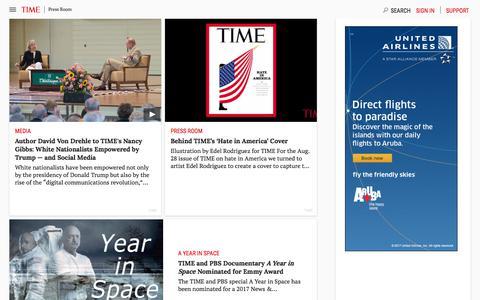 Press Room | Time.com