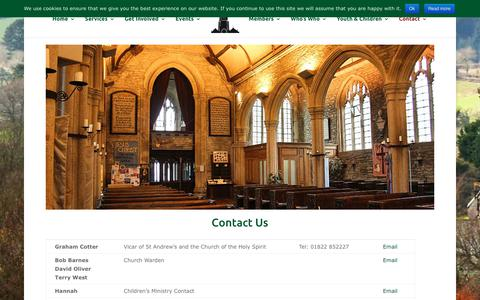 Screenshot of Contact Page Maps & Directions Page bucklandchurchdevon.co.uk - Contact Buckland Monachorum Church - St Andrew's Church - Buckland Monachorum - captured July 7, 2018