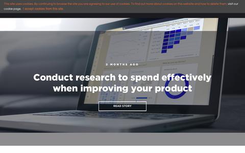 Screenshot of Blog mvgmedia.com - Web Design and Online Marketing Tips - captured July 26, 2018
