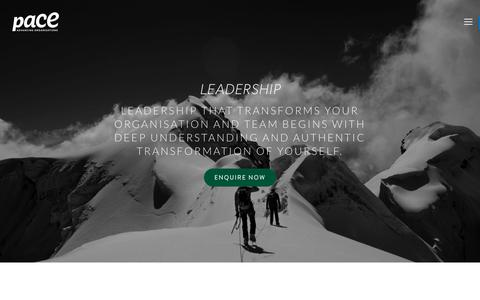Screenshot of Team Page pace-od.com - Leadership — PACE O.D. Consulting - captured July 8, 2017