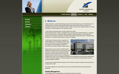 Screenshot of About Page oxyde.eu - About us | Oxyde - captured Oct. 9, 2014