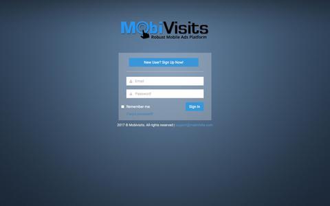 Screenshot of Privacy Page Signup Page mobivisits.com - Mobivisits - captured Nov. 2, 2017