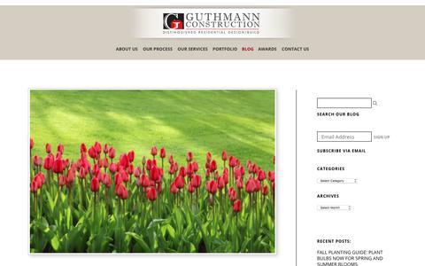 Screenshot of Blog guthmannconstruction.com - Blog | Guthmann Construction - captured Sept. 24, 2017