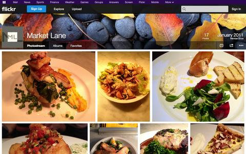 Screenshot of Flickr Page flickr.com - Flickr: Market Lane's Photostream - captured Oct. 26, 2014