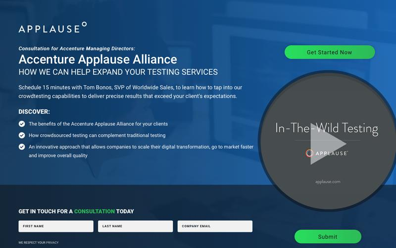Learn More About the Accenture Applause Alliance | Applause
