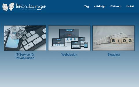 Screenshot of Home Page tech-lounge.de - Tech-Lounge - Tech-Lounge - captured Sept. 19, 2014