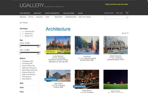 Architecture Artwork for Sale, Buy Art Online | UGallery