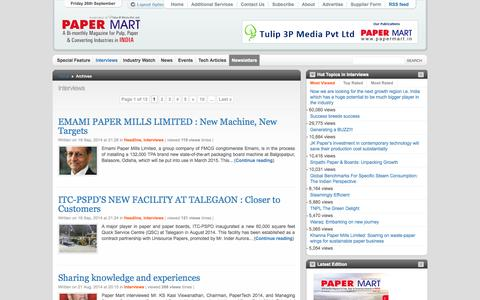 Screenshot of Team Page papermart.in - Interviews - Papermart - captured Sept. 26, 2014