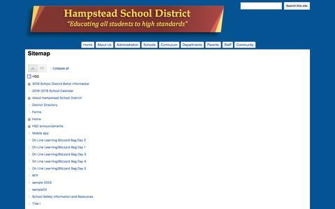 Screenshot of Site Map Page google.com - Sitemap - HSD - captured July 3, 2018