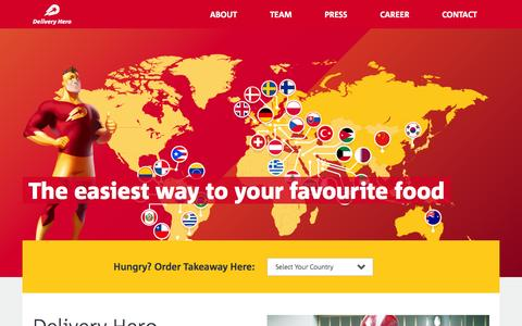 Delivery Hero - The Easiest Way to Your Favourite Food
