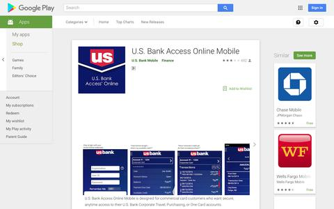 U.S. Bank Access Online Mobile - Apps on Google Play
