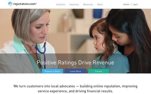Reputation.com | The online reputation management leader