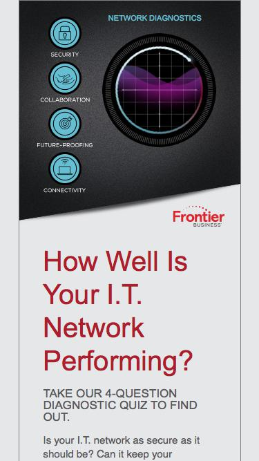 I.T. Network Fitness Quiz | Frontier Business