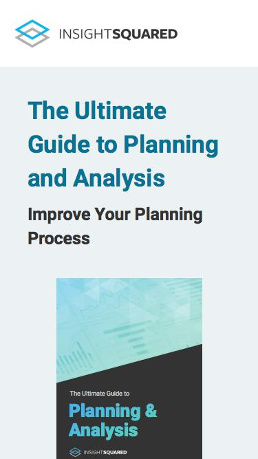 Planning and Analysis Guide