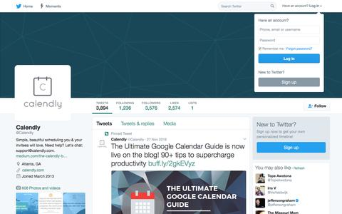 Calendly (@Calendly)   Twitter