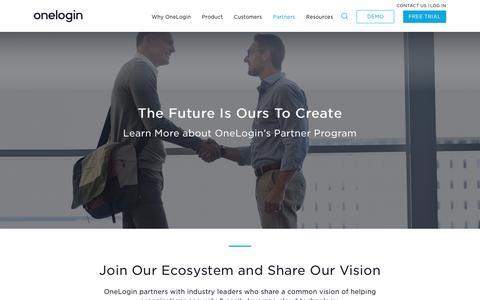 OneLogin Partnership Program & Resellers