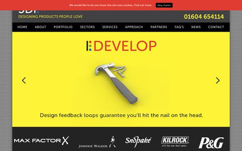 Screenshot of Home Page 3di.co.uk - 3DI Product Design Consultants | 3D Development company UK - captured Oct. 20, 2018