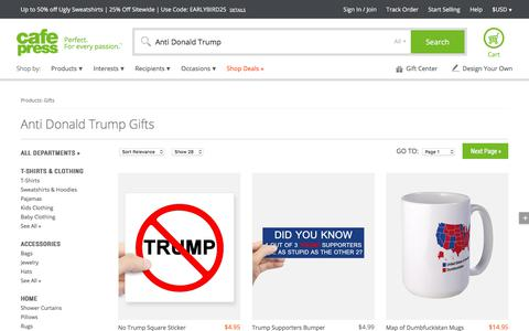 Anti Donald Trump Gifts & Merchandise   Anti Donald Trump Gift Ideas & Apparel - CafePress