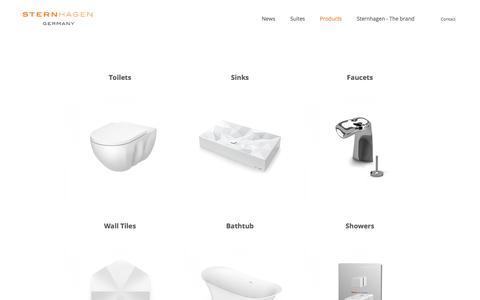 Screenshot of Products Page sternhagen.com - Sternhagen USA - captured July 26, 2018