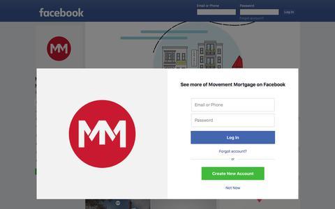 Screenshot of Facebook Page facebook.com - Movement Mortgage - 9,344 Photos - 684 Reviews - Loan Service - 8024 Calvin Hall Road, Fort Mill, South Carolina 29707 - captured Feb. 2, 2018