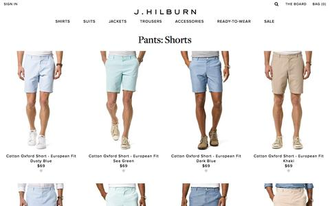 Shorts | Pants | J.Hilburn