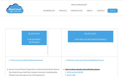 Screenshot of Signup Page healthcarepoint.com - - HealthCarePoint - captured Feb. 22, 2019